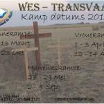 Lichtenburg jaarkamp datums